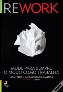 livros sobre cultura organizacional Rework 12min