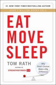 dicas de saúde e bem estar livro Eat Move Sleep 12min
