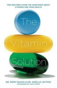 dicas de saúde e bem estar livro The Vitamin Solution 12min