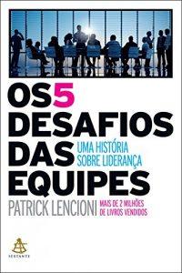 livro 5 desafios das equipes