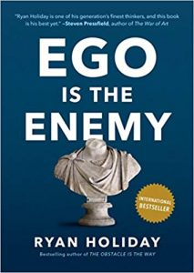 livro Ego is the Enemy