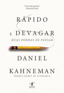 livro Rápido e Devagar - Daniel Kahneman
