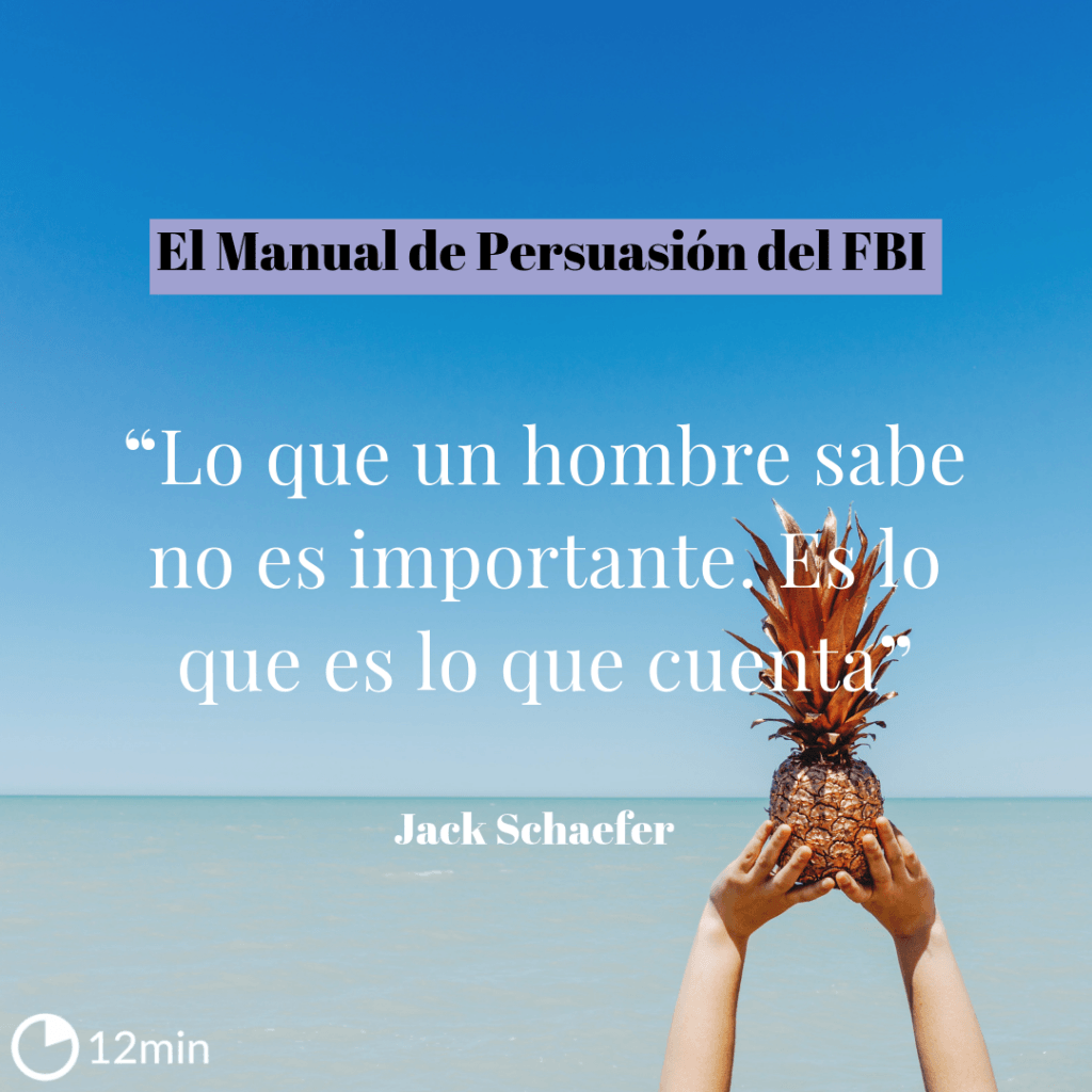 El Manual de Persuasión del FBI Resumem