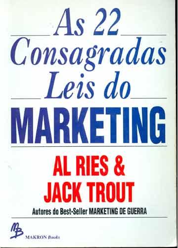 livros mais lidos as-22-consagradas-leis-do-marketing-12-minutos
