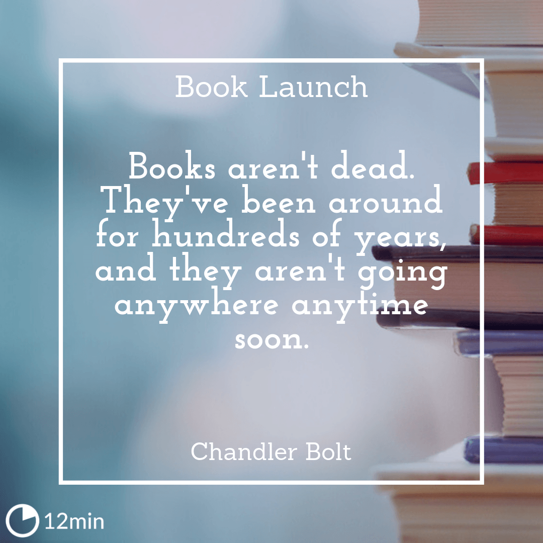 book launch summary