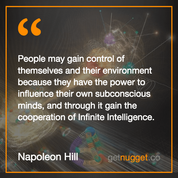 People may gain control of themselves and their environment