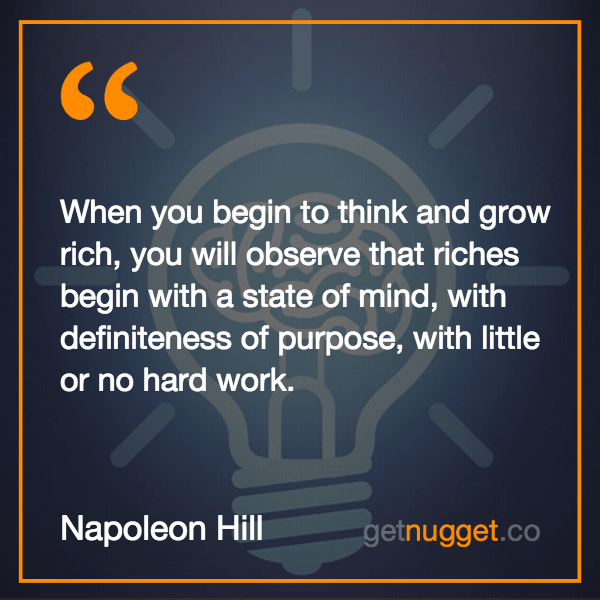 think and grow rich napoleon hill pdf
