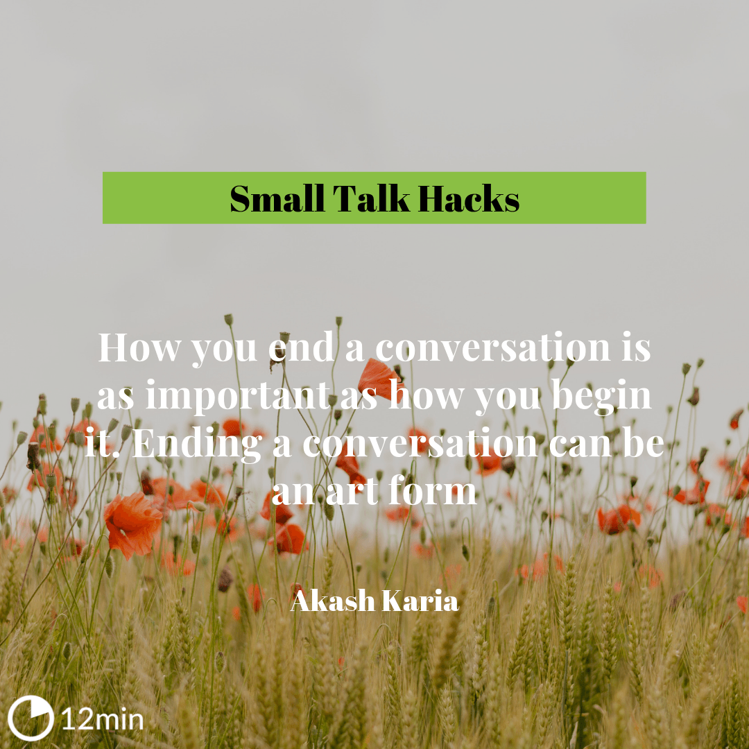 Small Talk Hacks Review