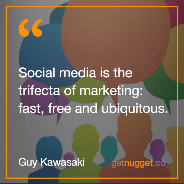 Social media is the trifecta of marketing