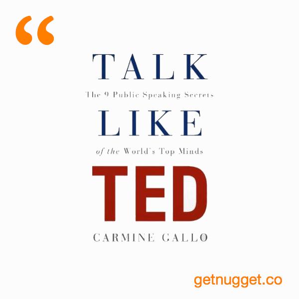Talk Like TED. public speech