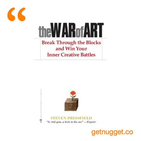 Steven Pressfield The War Of Art Quotes Daily Inspiration Quotes