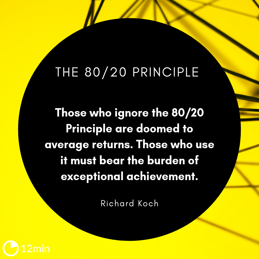 The 80/20 Principle Summary