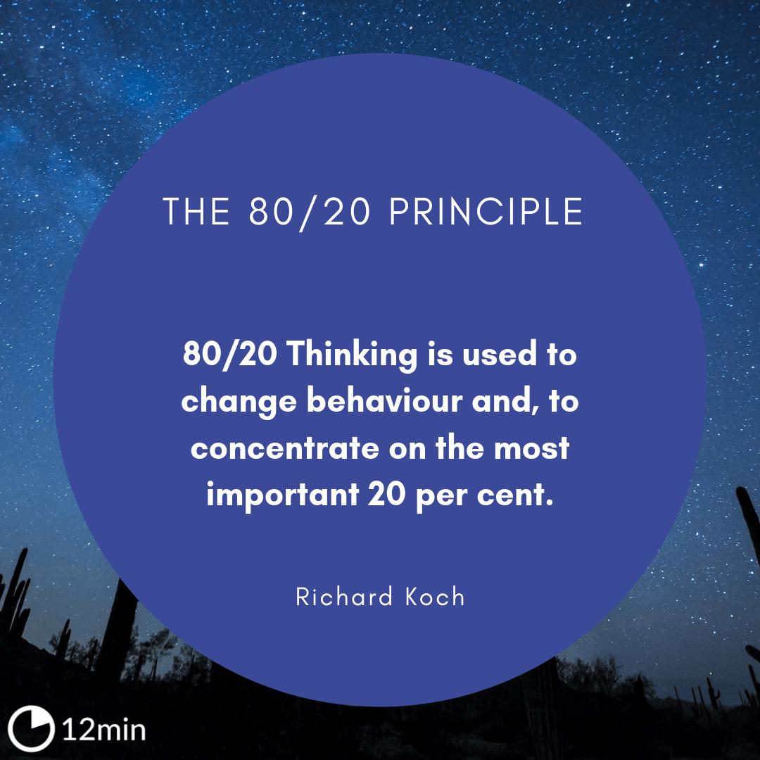 The 80/20 Principle PDF