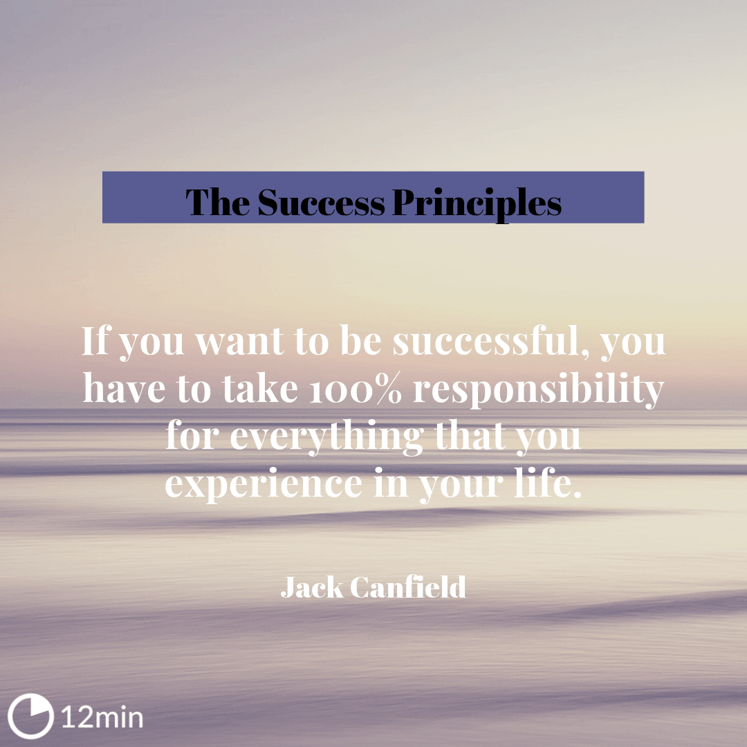 The Success Principles Summary