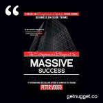 nuggets from The Entrepreneur Blueprint to Massive Success by Peter Voogd