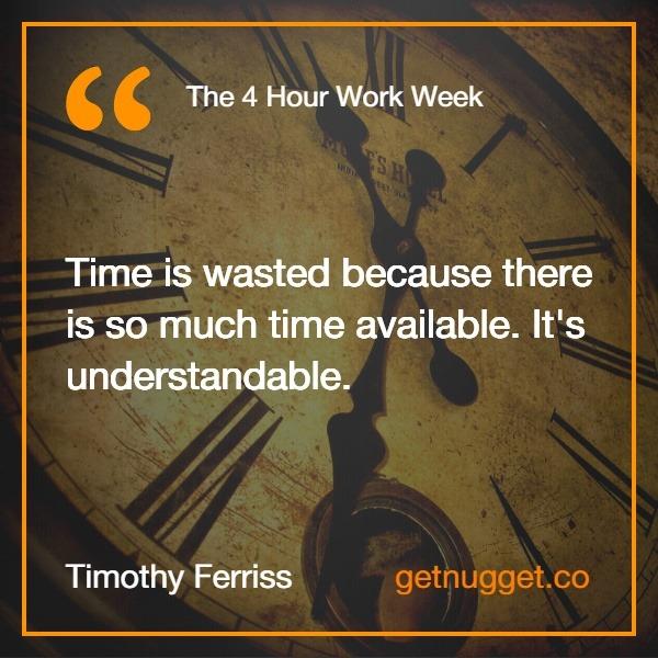 Timothy Ferriss.