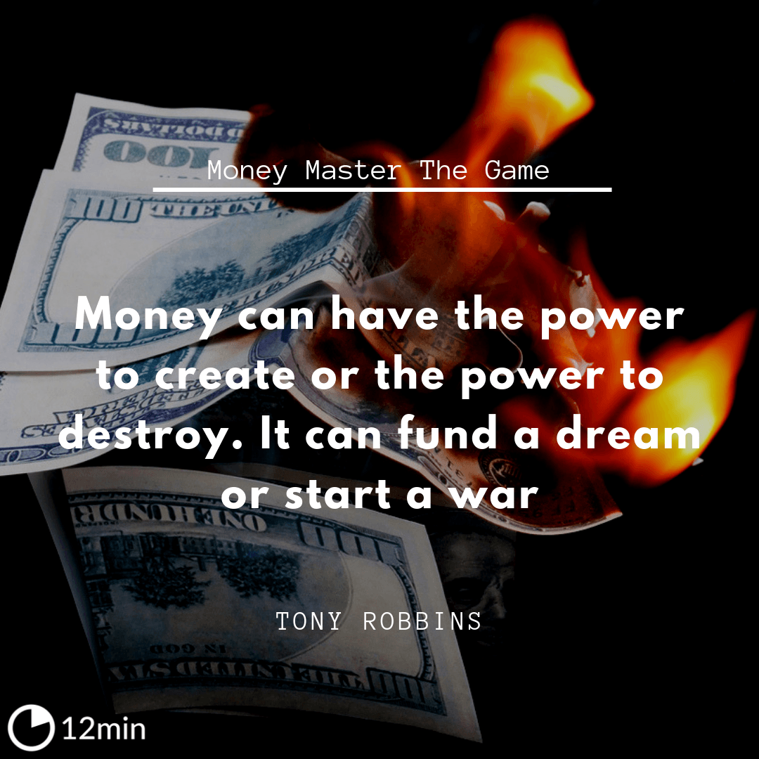 Money Master The Game PDF Summary - Tony Robbins | 12min Blog