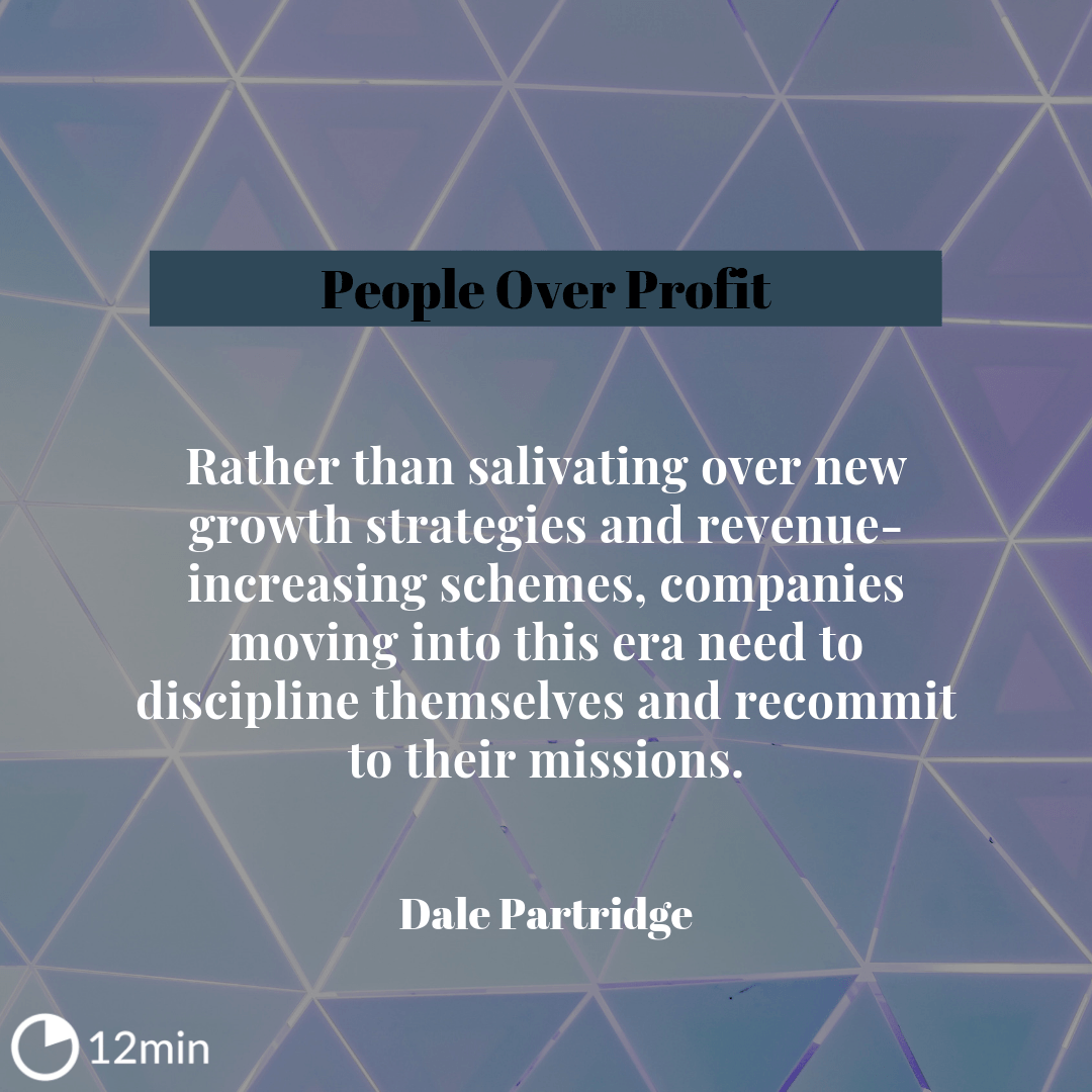 People Over Profit Summary