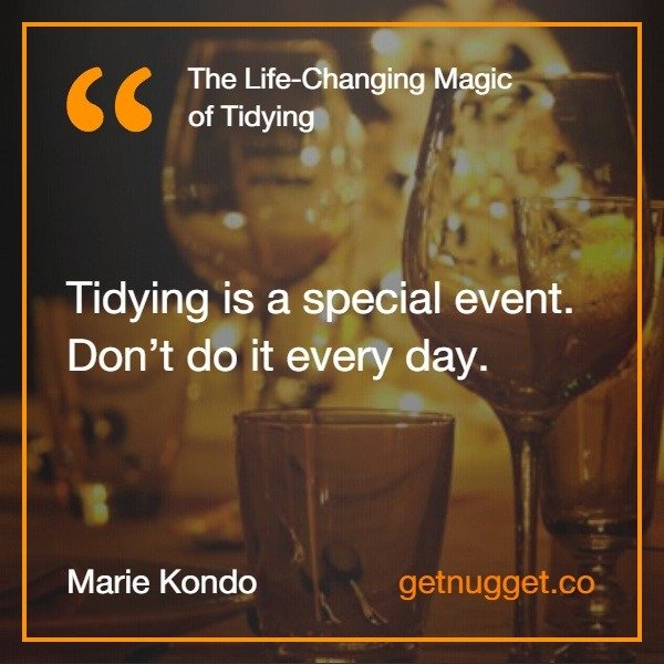 The Life-Changing Magic of Tidying Up PDF