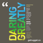nuggets from daring-greatly-brene-brown-summary