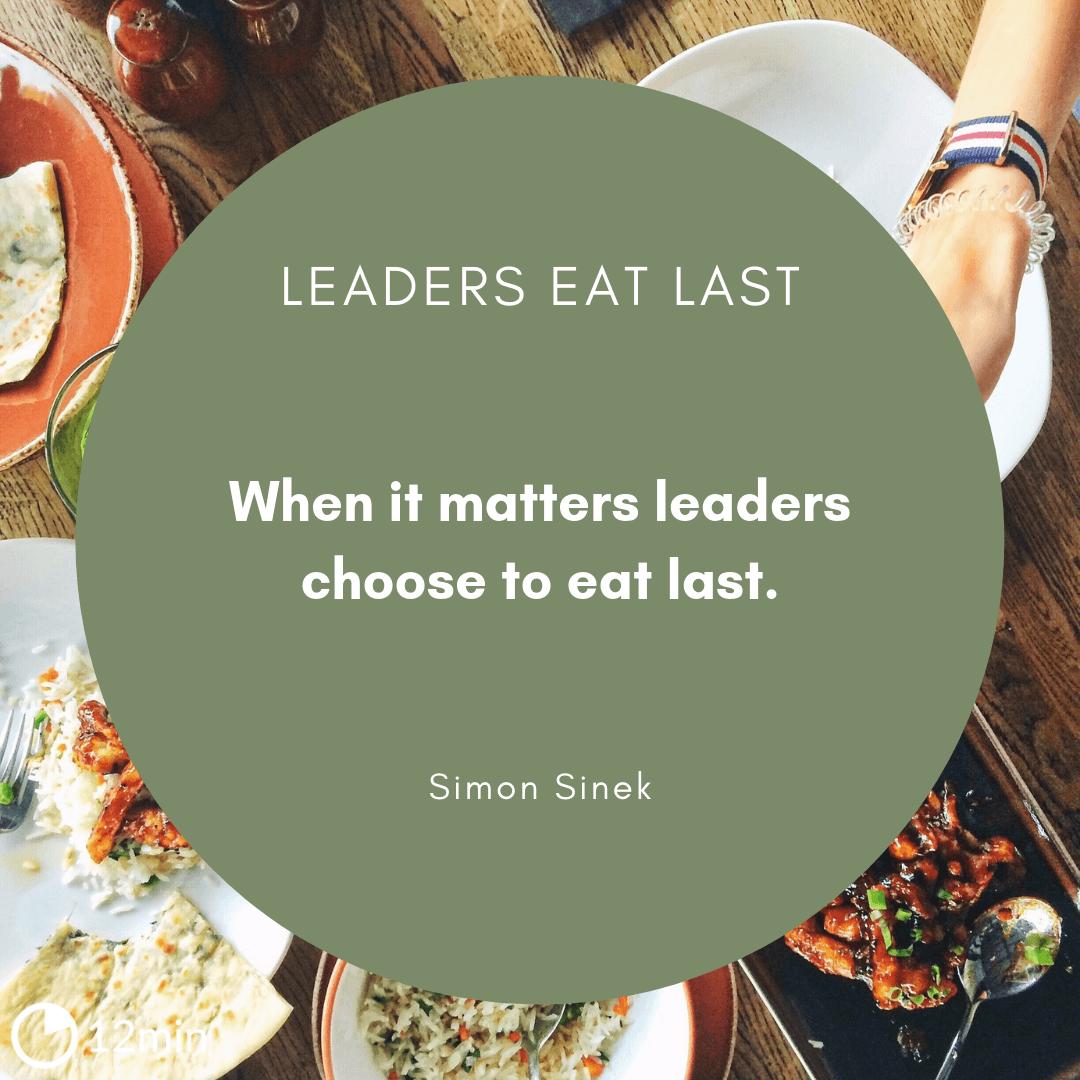 Leaders Eat Last Review