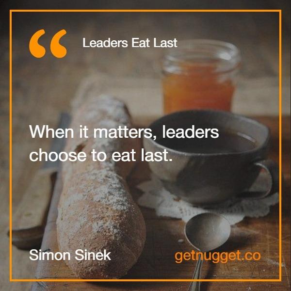 Leaders Eat Last PDF