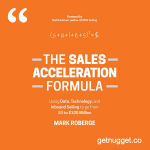 nuggets from the-sales-acceleration-formula-mark-roberge-summary