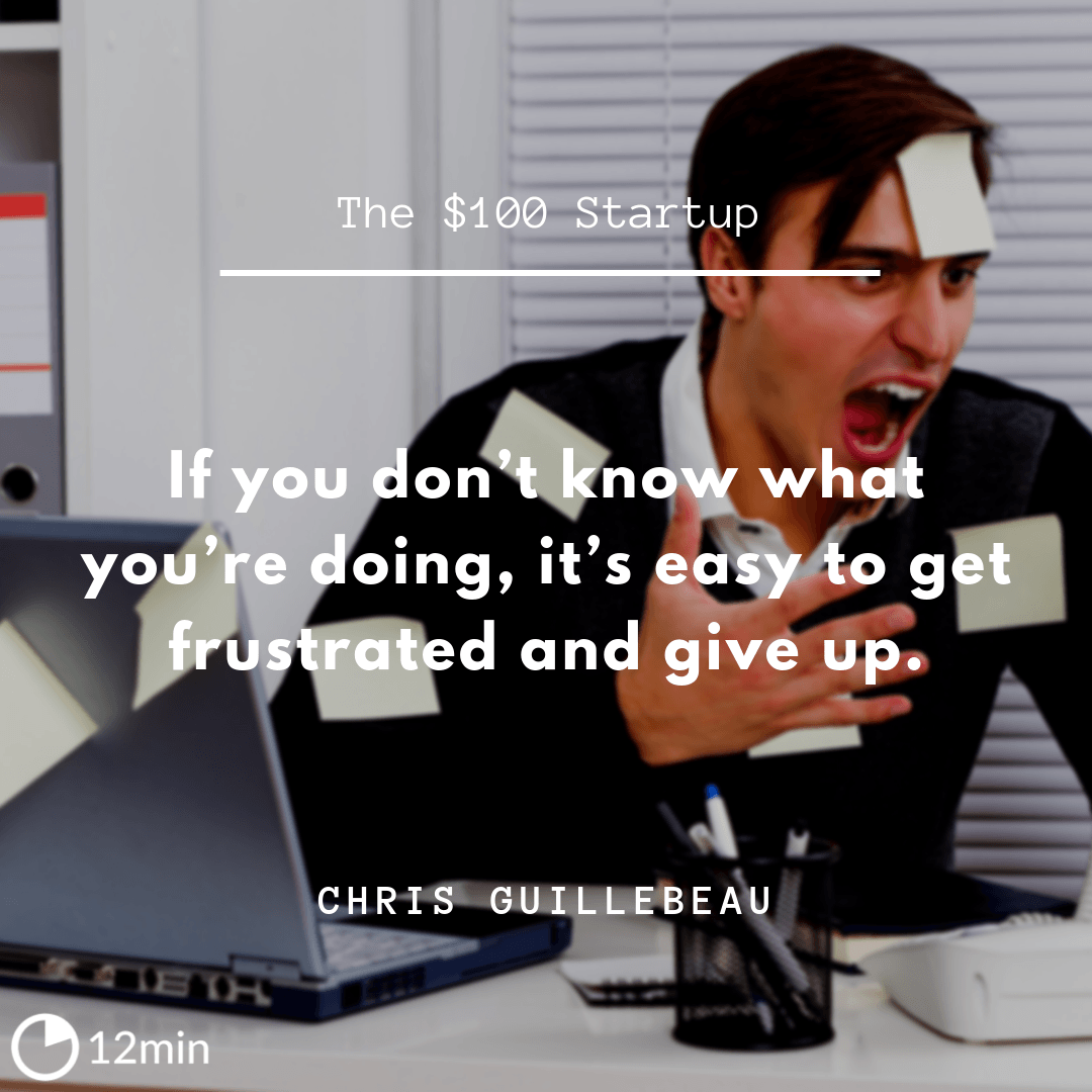 The $100 Startup Summary