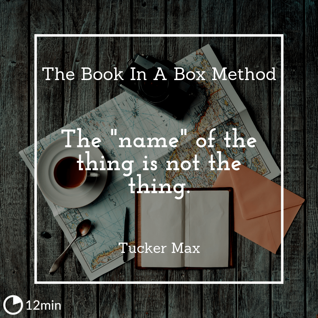 The Book In A Box Method  Summary