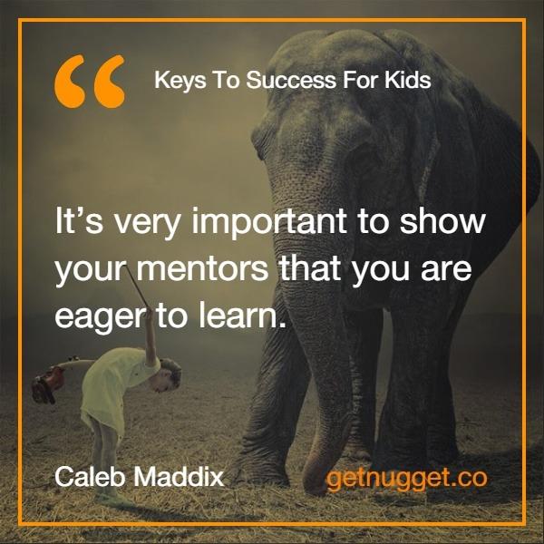 Keys to Success for Kids caleb maddix
