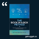 nuggets from the book in a box method tucker max zach obront summary