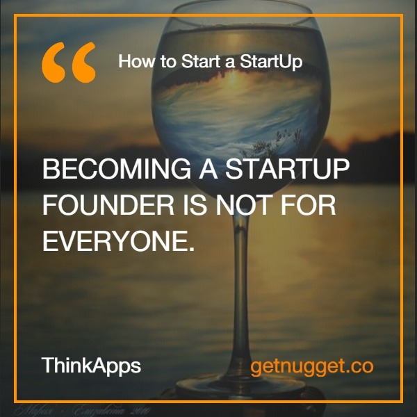 How to start a startup ThinkApps.