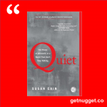 nuggets from quiet susan cain summary