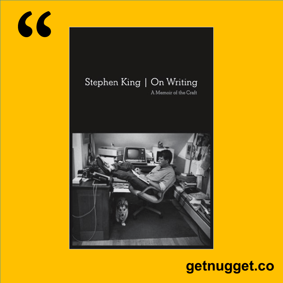 the alchemist destiny s road to heal nugget quotes and nuggets from on writing by stephen king summary