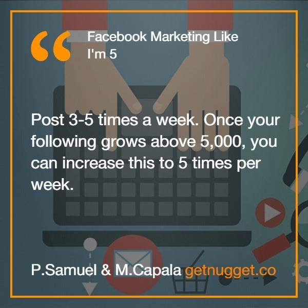 Facebook Marketing Like I'm 5 PDF
