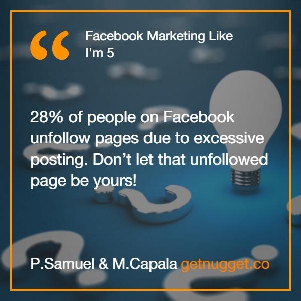Facebook Marketing Like I'm 5 Summary