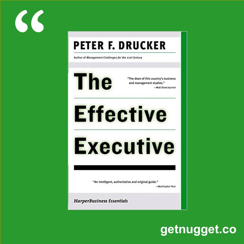 Effective Executive Pdf