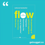nuggets from Flow by Mihaly Csikszentmihalyi