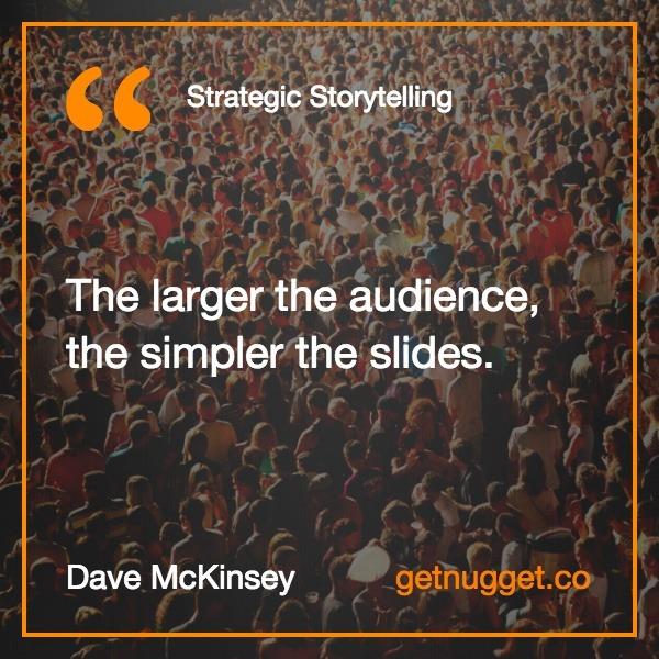 Strategic Storytelling Summary