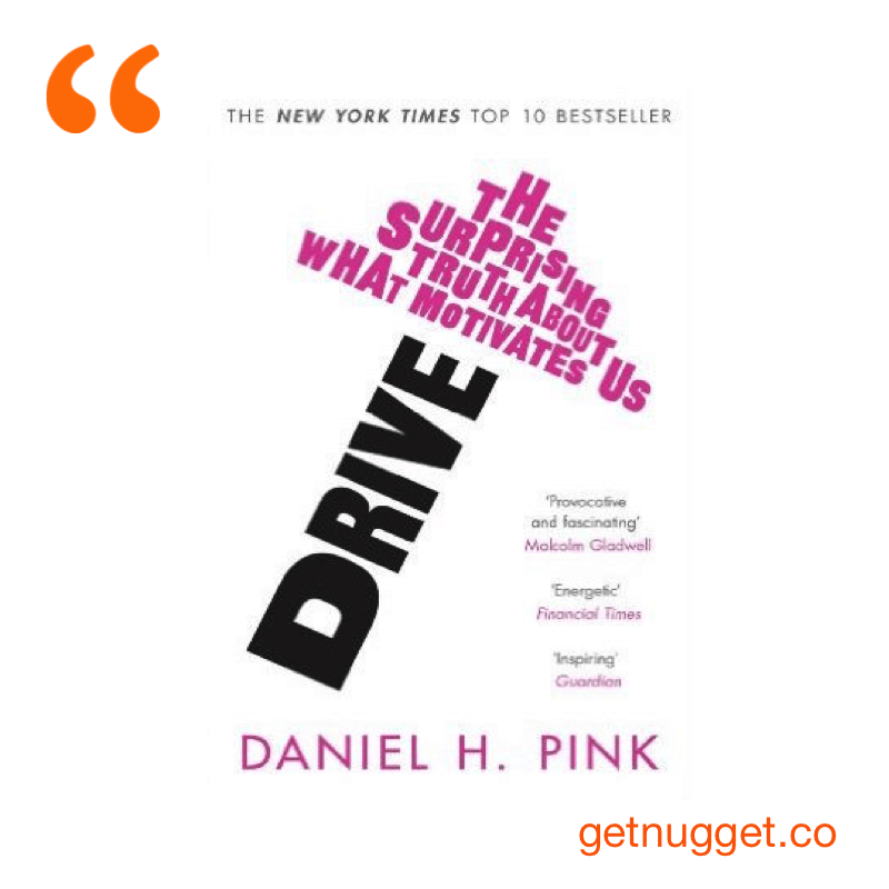 Book summary for drive by daniel h pink