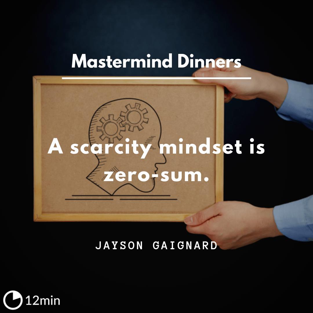 Mastermind Dinners PDF