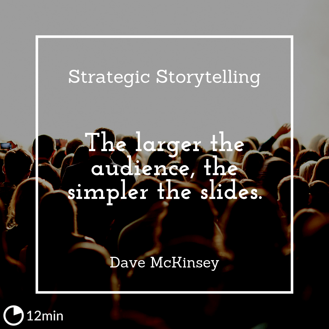 Strategic Storytelling Summary