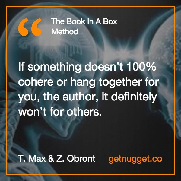 Book in a Box Method