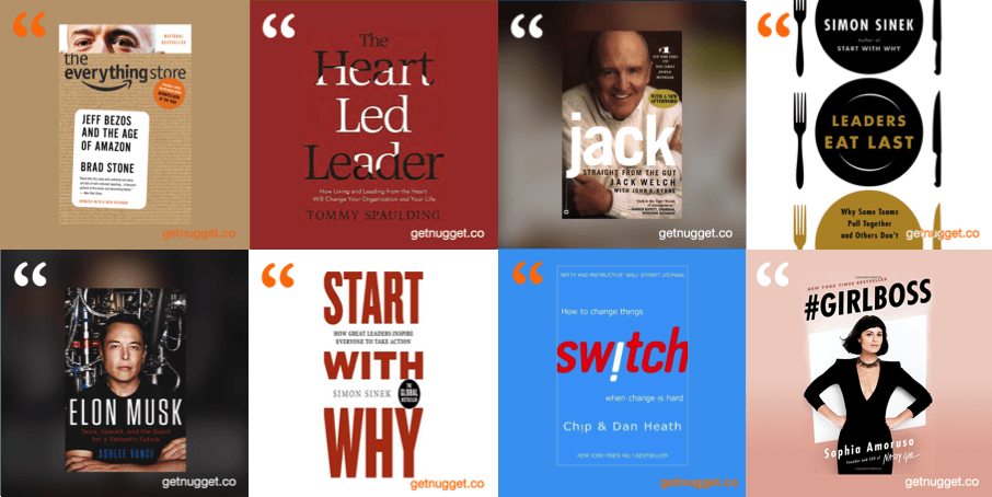 8 leadership books