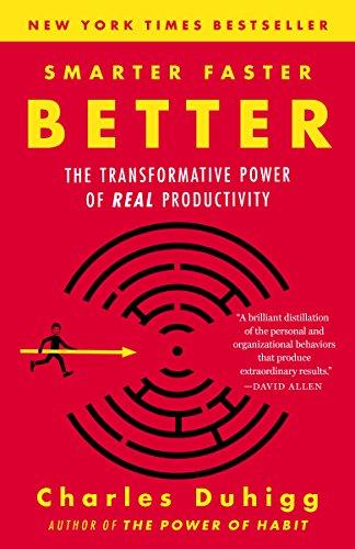 Smarter Faster Better Summary
