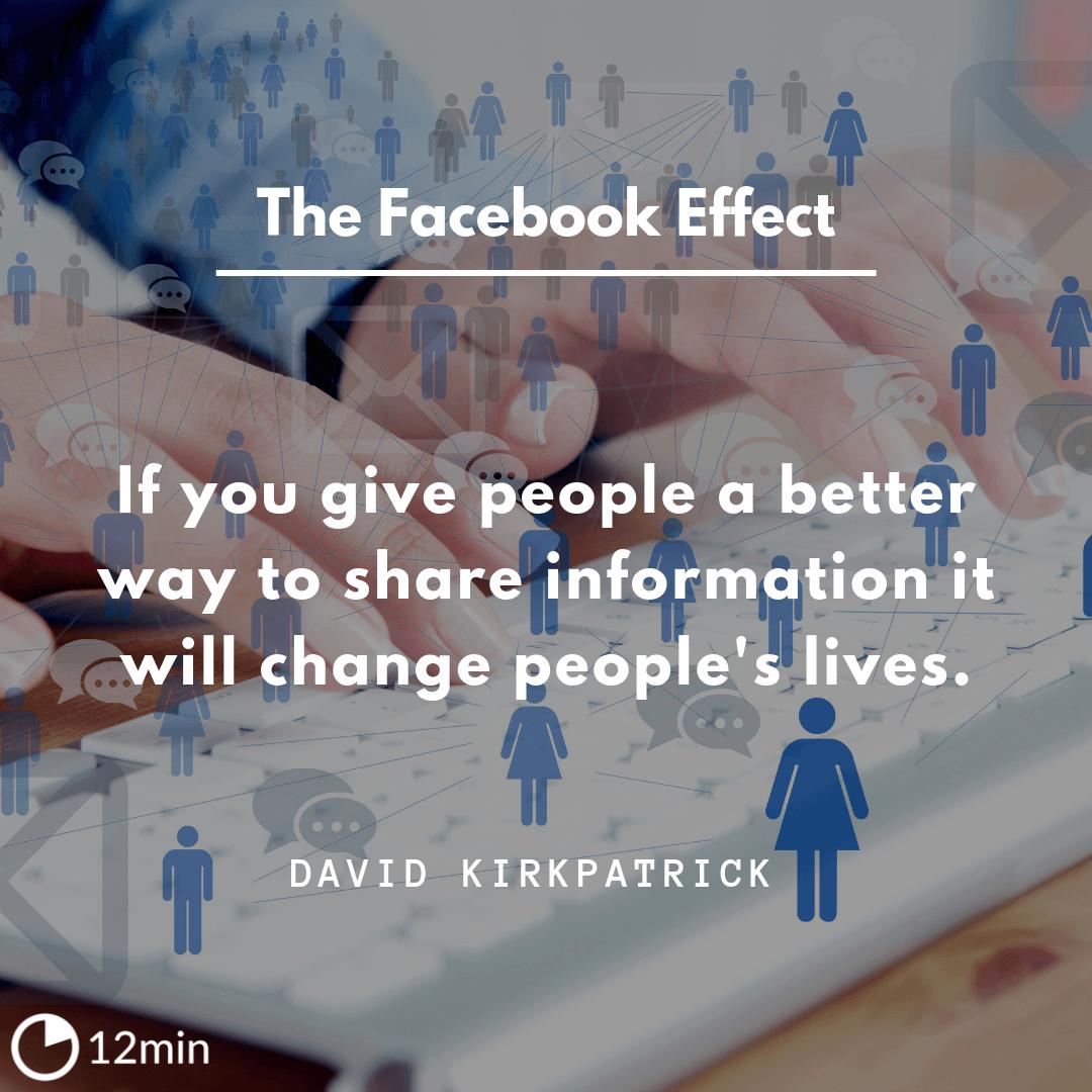 The Facebook Effect Summary