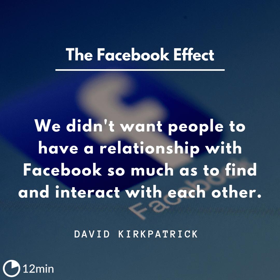 The Facebook Effect PDF