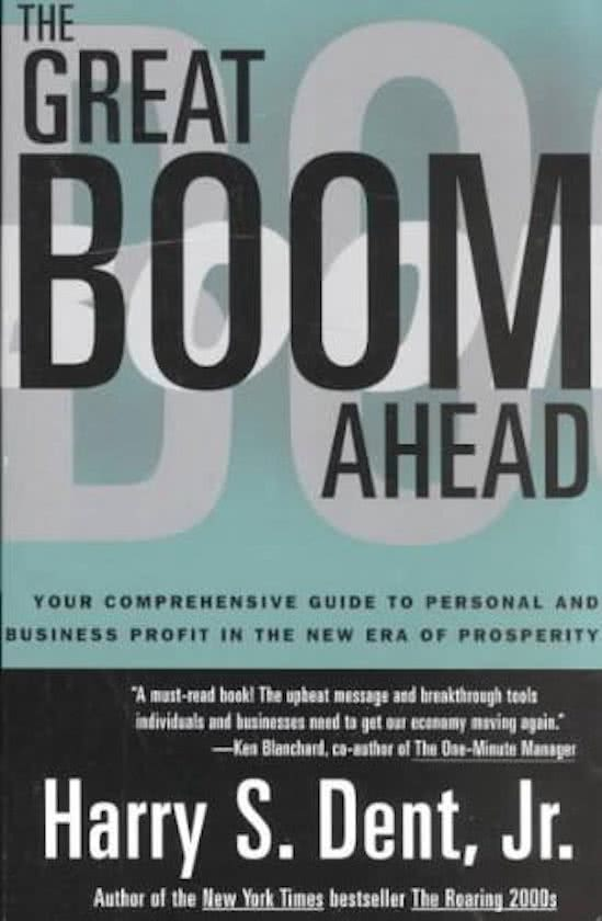The Great Boom Ahead Summary