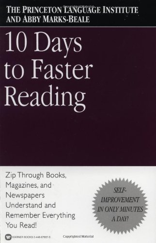 10 Days to Faster Reading PDF Summary - Abby Marks-Beale