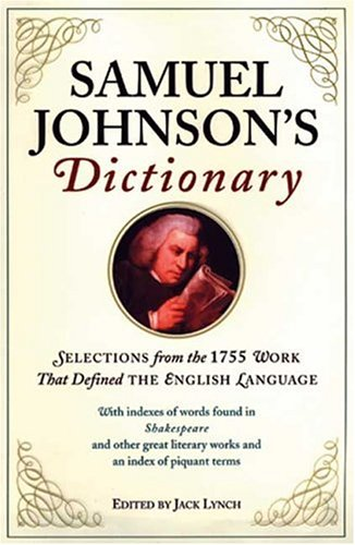 A Dictionary of the English Language Summary